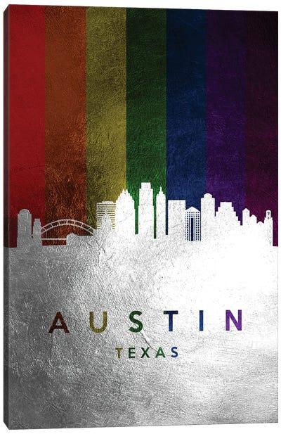 Austin Texas Spectrum Skyline Canvas Art Print