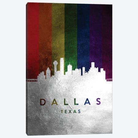 Dallas Texas Spectrum Skyline Canvas Print #ABV682} by Adrian Baldovino Canvas Print