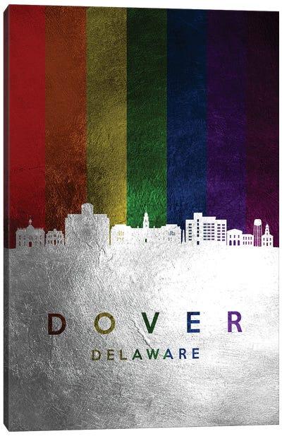 Dover Delaware Spectrum Skyline Canvas Art Print