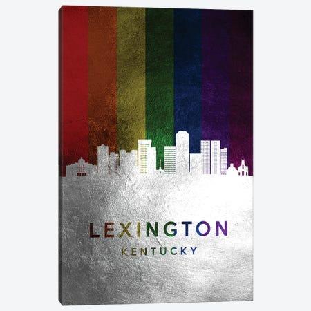 Lexington Kentucky Spectrum Skyline Canvas Print #ABV705} by Adrian Baldovino Canvas Art Print
