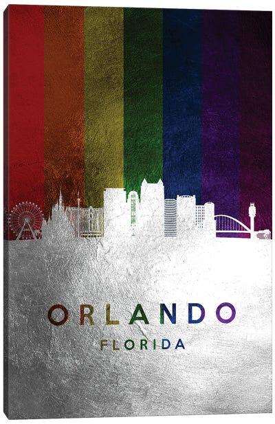 Orlando Florida Spectrum Skyline 2 Canvas Art Print