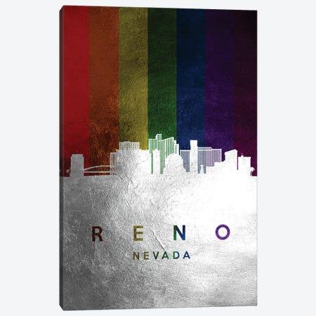 Reno Nevada Spectrum Skyline Canvas Print #ABV739} by Adrian Baldovino Canvas Print