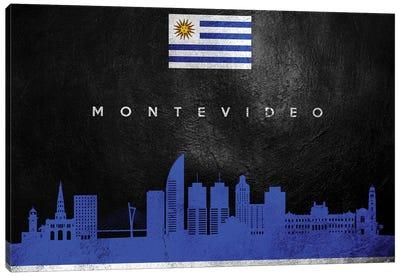 Montevideo Uruguay Skyline Canvas Art Print