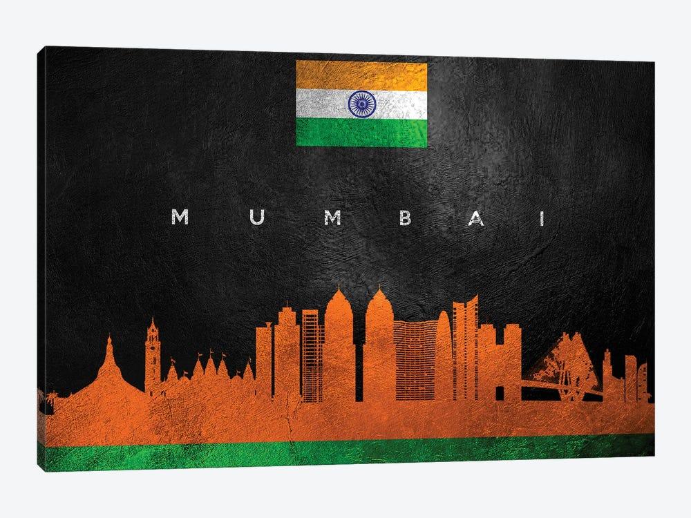Mumbai India Skyline by Adrian Baldovino 1-piece Canvas Artwork