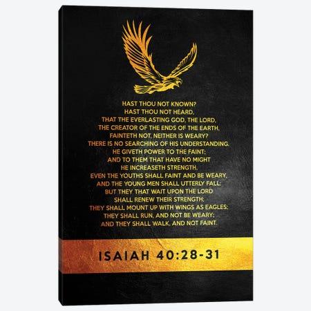 Isaiah 40:28-31 Bible Verse Canvas Print #ABV905} by Adrian Baldovino Canvas Print