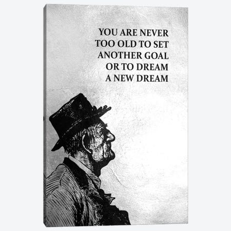 Never Too Old Canvas Print #ABV924} by Adrian Baldovino Canvas Print