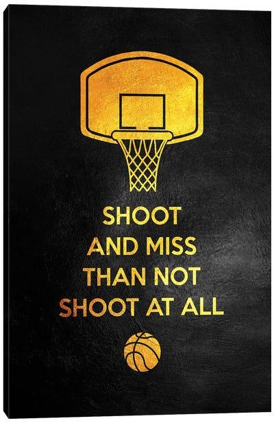 Just Shoot It Canvas Art Print