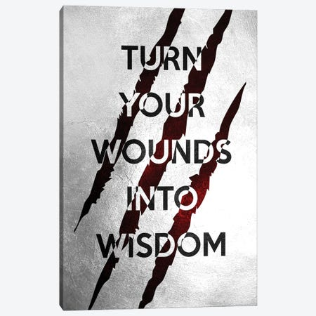 Wounds Into Wisdom Canvas Print #ABV962} by Adrian Baldovino Canvas Art