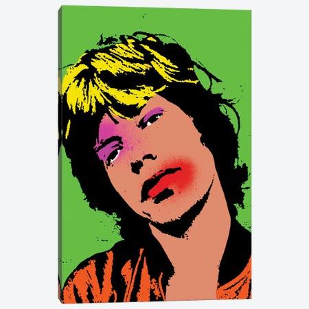 Mick Jagger Pop Art Canvas Print #ABW10} by Andrew M Barlow Canvas Art