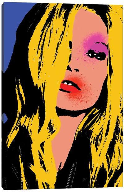 Kate Moss Pop Art Canvas Art Print