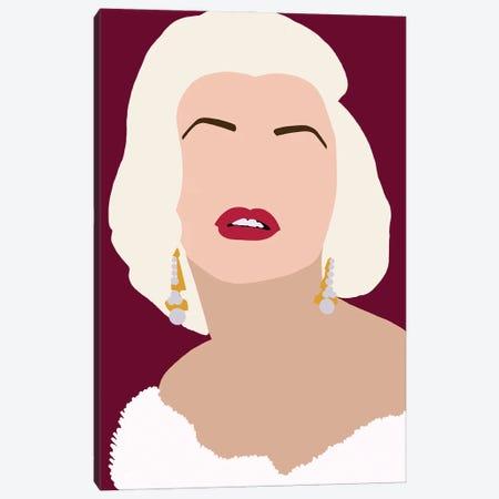 Marilyn Monroe Canvas Print #ABW4} by Andrew M Barlow Art Print