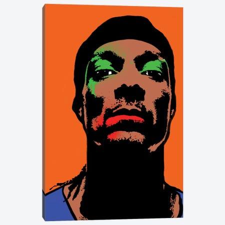Snoopdog Pop Art Canvas Print #ABW7} by Andrew M Barlow Art Print