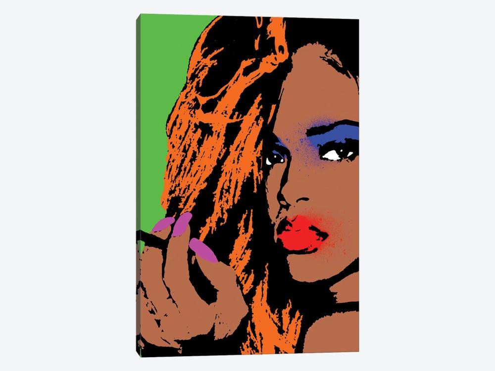 Rihanna Pop Art by Andrew M Barlow 1-piece Canvas Art