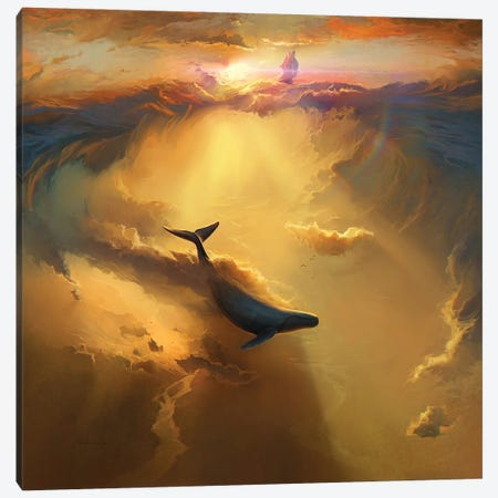 Infinite Dreams Canvas Print #ACB16} by Artem Rhads Chebokha Canvas Art Print