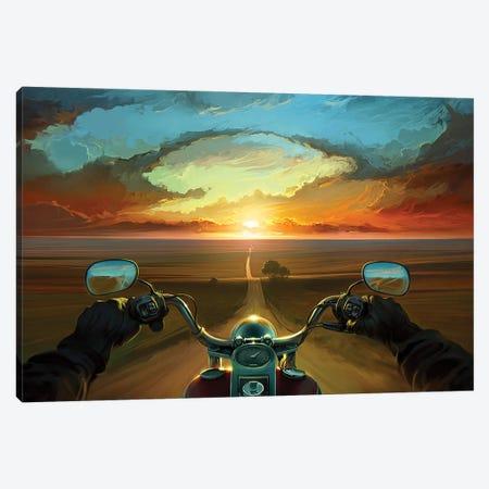 Land Of The Winds Canvas Print #ACB17} by Artem Rhads Chebokha Art Print