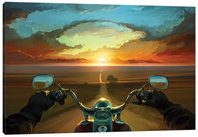 Land Of The Winds Canvas Art Print
