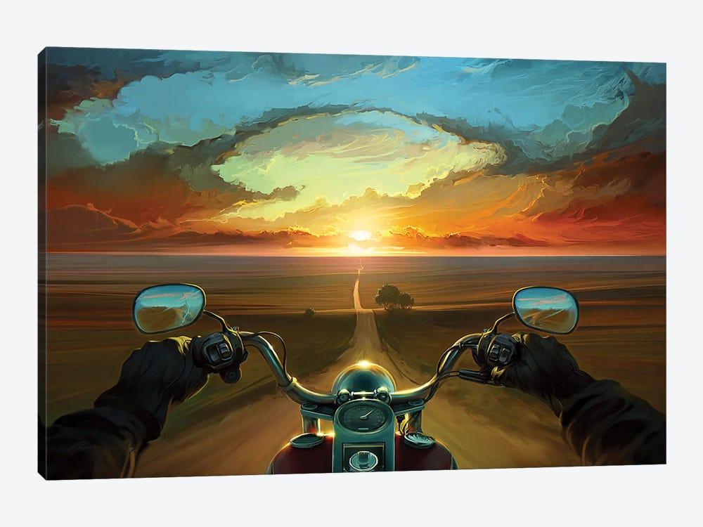 Land Of The Winds by Artem Rhads Chebokha 1-piece Art Print