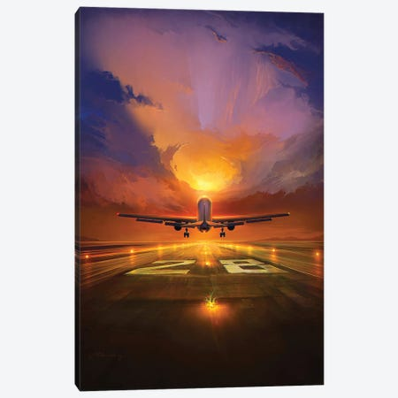 Last Flight Canvas Print #ACB18} by Artem Rhads Chebokha Canvas Art