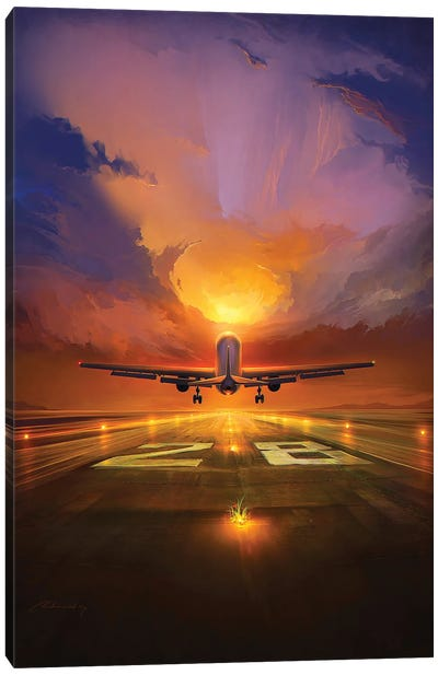 Last Flight Canvas Art Print