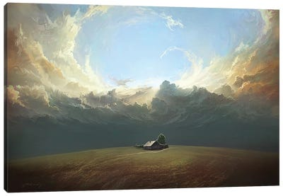 At World's End Canvas Art Print
