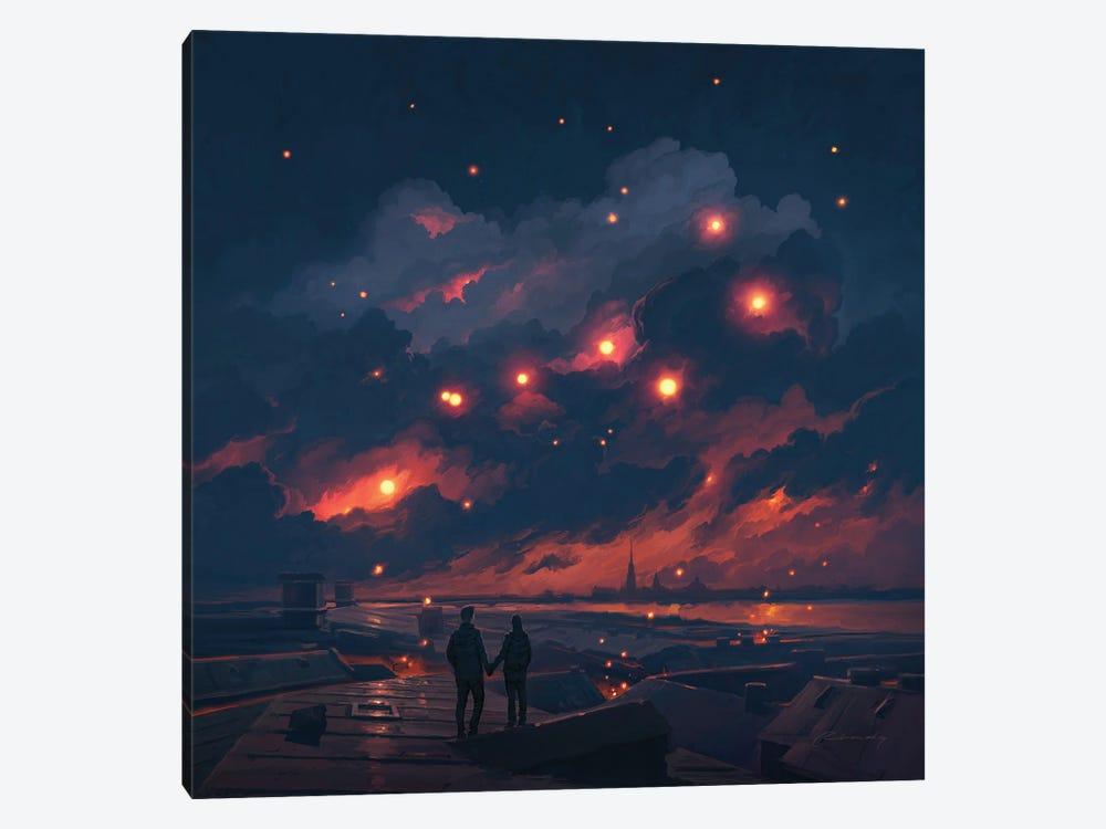 Magic Night by Artem Rhads Chebokha 1-piece Art Print