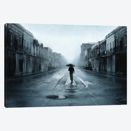 Rainy Day Canvas Print #ACB23} by Artem Rhads Chebokha Canvas Print