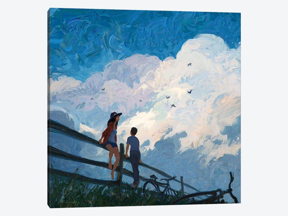 The Sky Song by Artem Rhads Chebokha 1-piece Art Print