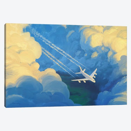 The Way Canvas Print #ACB27} by Artem Rhads Chebokha Canvas Artwork