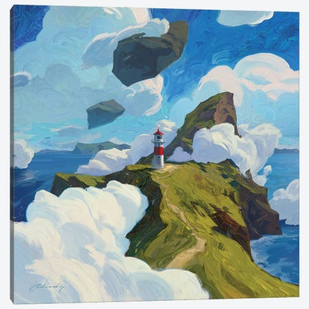 Two Tickets To Faroe, Please Canvas Print #ACB28} by Artem Rhads Chebokha Canvas Print