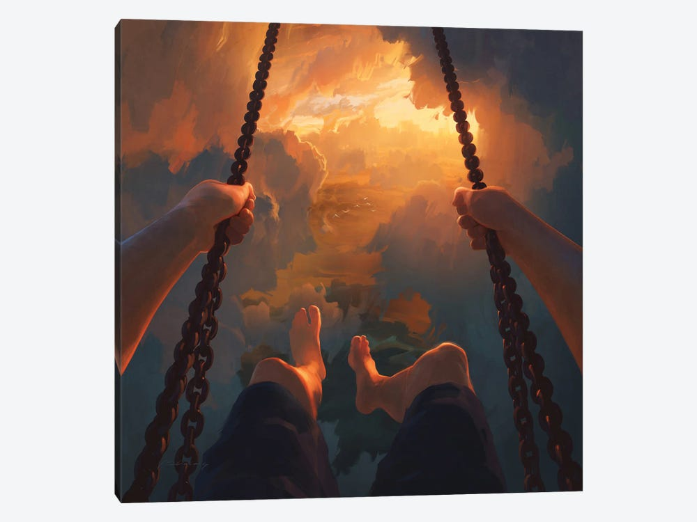 View From Above by Artem Rhads Chebokha 1-piece Canvas Wall Art