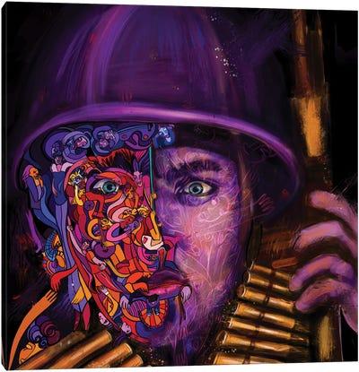 Soldier Canvas Art Print