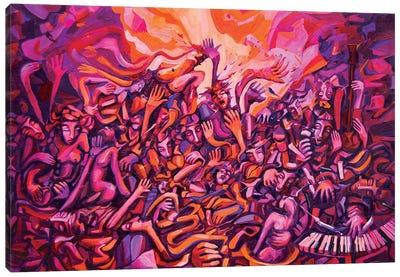 Giudizi Musicali Canvas Art Print