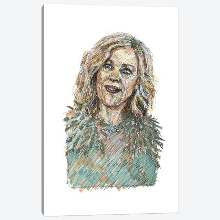 Schitt's Creek - Moira Rose Canvas Print #ACD10} by Amanda Casady Canvas Wall Art