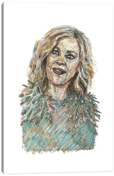 Schitt's Creek - Moira Rose Canvas Art Print