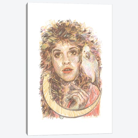 Stevie Nicks Canvas Print #ACD11} by Amanda Casady Canvas Artwork