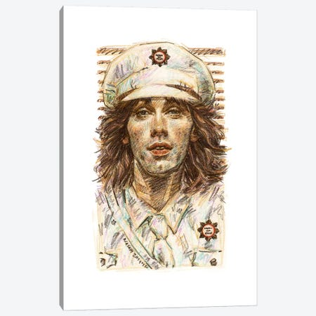 Cheap Trick - Tom Petersson Canvas Print #ACD1} by Amanda Casady Art Print
