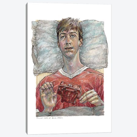 Ferris Buellers Day Off - Cameron Frye Canvas Print #ACD3} by Amanda Casady Canvas Print