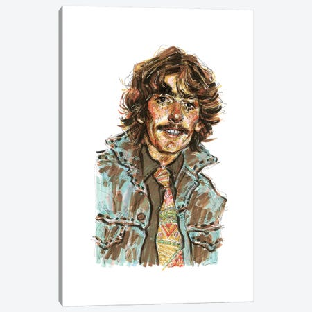 George Harrison Canvas Print #ACD4} by Amanda Casady Canvas Art