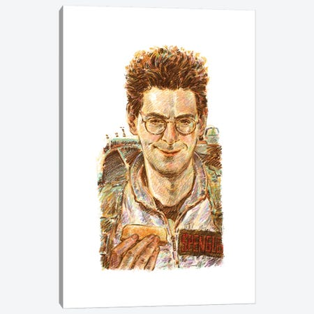 Ghostbusters - Egon Spengler Canvas Print #ACD5} by Amanda Casady Canvas Art