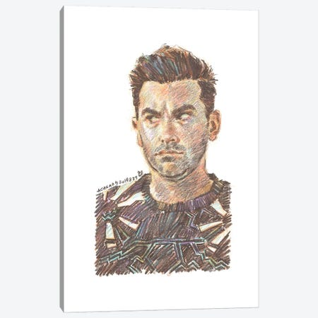 Schitt's Creek - David Rose Canvas Print #ACD9} by Amanda Casady Art Print