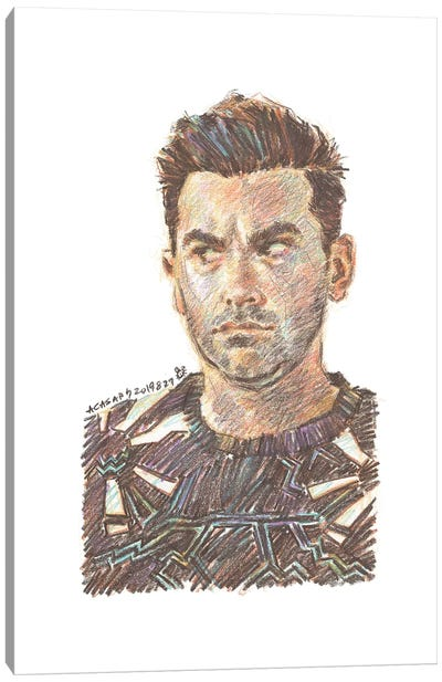 Schitt's Creek - David Rose Canvas Art Print