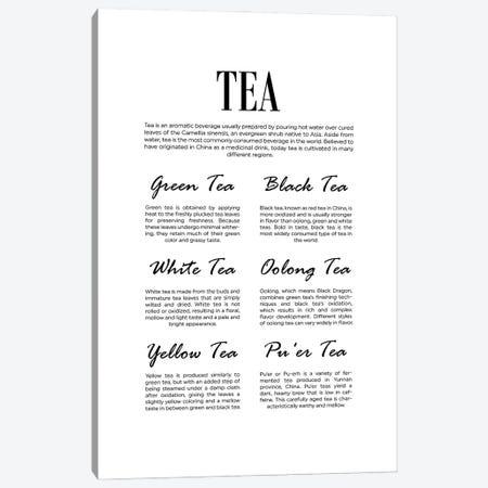 Tea Canvas Print #ACE101} by Alchera Design Posters Canvas Art Print