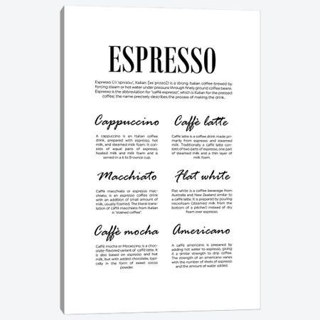 Espresso Canvas Print #ACE102} by Alchera Design Posters Canvas Art Print
