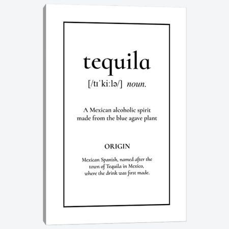 Tequila Definition Canvas Print #ACE109} by Alchera Design Posters Canvas Art Print