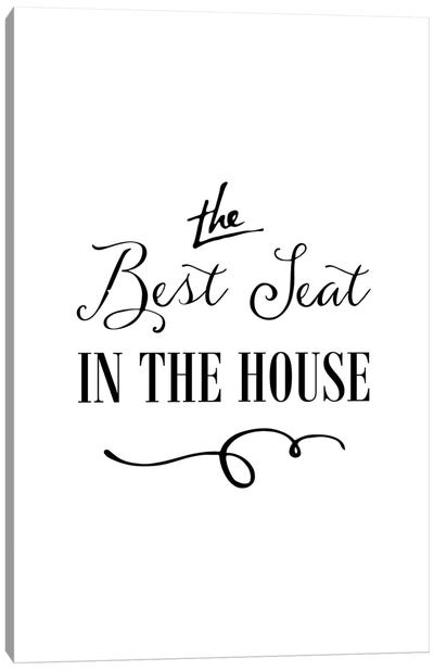 The Best Seat in the House Canvas Art Print