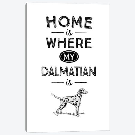 Dalmatian Canvas Print #ACE28} by Alchera Design Posters Canvas Wall Art