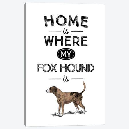 Fox Hound Canvas Print #ACE30} by Alchera Design Posters Canvas Art Print