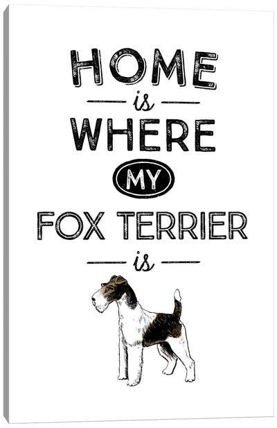 Fox Terrier Canvas Art Print