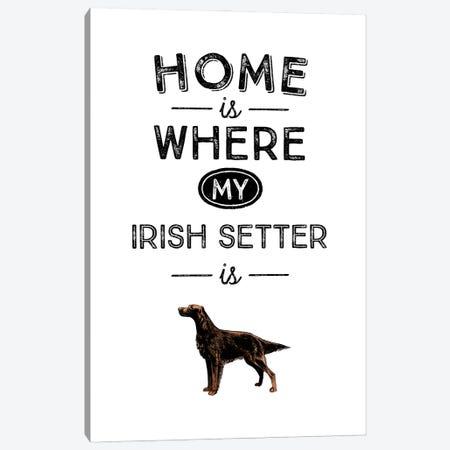 Irish Setter Canvas Print #ACE35} by Alchera Design Posters Canvas Art