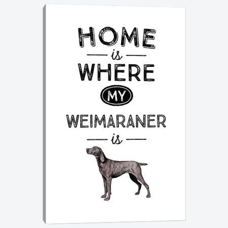 Weimaraner Canvas Print #ACE51} by Alchera Design Posters Art Print